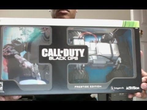 COD: Black Ops Prestige Edition Unboxing