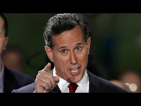 Republican Rick Santorum announces White House bid
