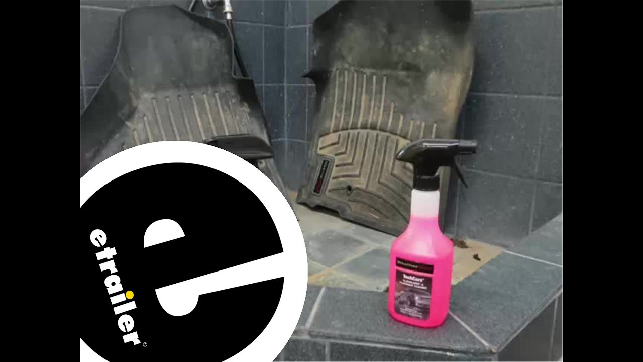 Weathertech floor mats alternative - Review Of The Weathertech Floor Mats Cleaner And Protector Kit Etrailer Com Youtube