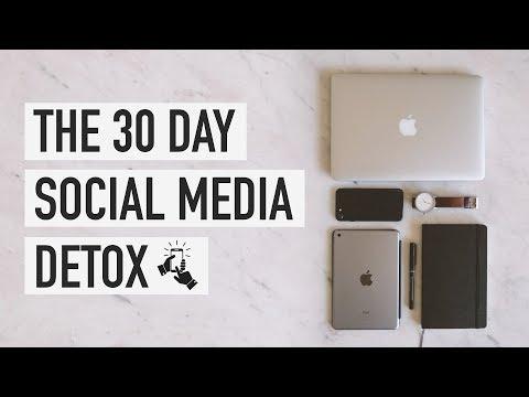 The 30 Day Social Media Detox
