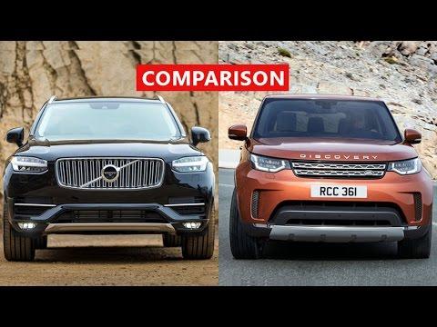 2017 Land Rover Discovery vs 2017 Volvo XC90 Comparison - INTERIOR, EXTERIOR, TEST DRIVE