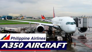 INSIDE THE A350   Philippine Airlines to Hong Kong (Part 1)