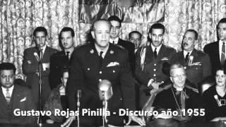 Discurso Gustavo Rojas Pinilla