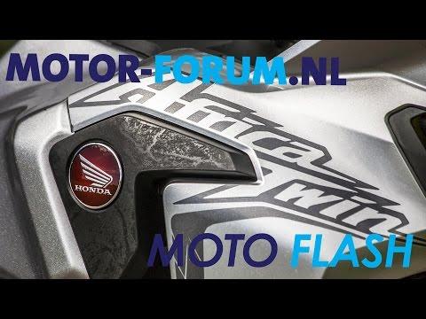 2016 Honda Africa Twin DCT Motor-forum Moto Flash