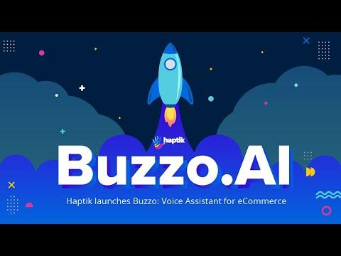 Haptik announces launch of Buzzo: Voice Assistant for eCommerce