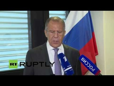 LIVE Iran nuclear talks: Lavrov speaks following plenary session