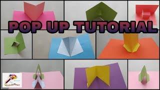 Popup Tutorial 1 - Basic pop up craft  Pop up card   3D Popup craft   Popup Craft  SS Craft Mantra 1