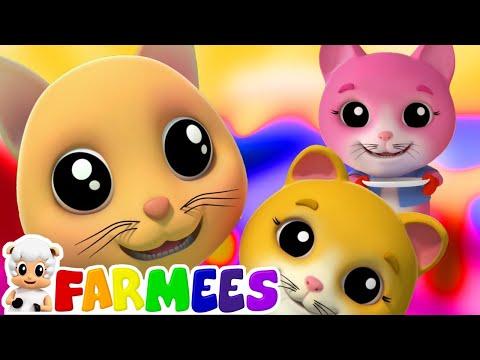 três pequenos gatinhos canções para crianças gatinhos rimas para bebês Three Little Kittens