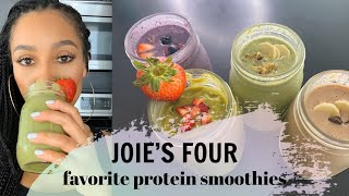 4 Favorite Protein Smoothies  Joie Chavis