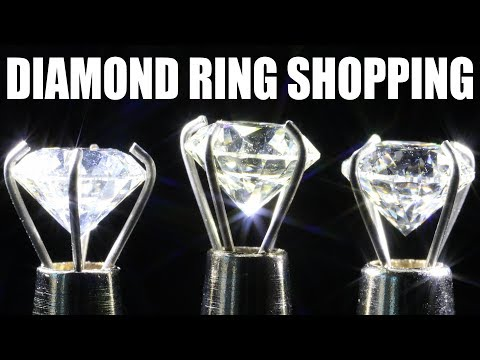 THE 3 BEST DIAMOND RING SHOPPING TIPS TO SAVE MONEY!!