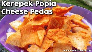 Resepi Kerepek Popia Cheese Pedas