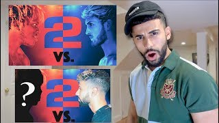FIGHTING ON KSI VS LOGAN PAUL 2....
