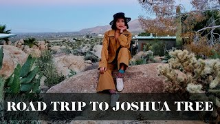 Road Trip in the USA! (Joshua Tree + Salvation Mountain!) | Laureen Uy