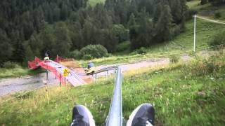 Luge d'été à La Colmiane : descente gâchée !