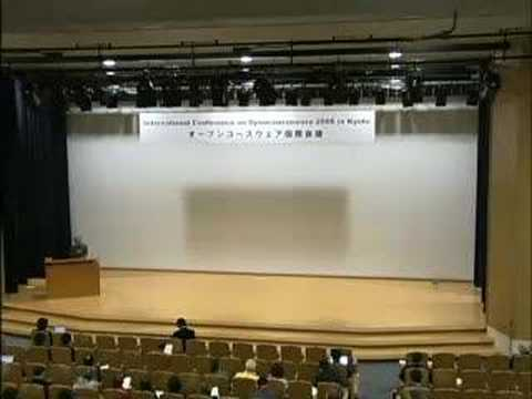 International Conference on Opencourseware 2006 in Kyoto