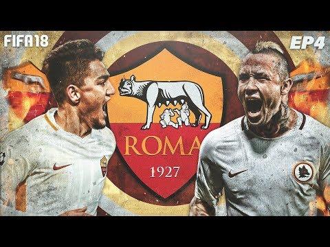 BIG MATCH VS INTER + MORE TRANSFERS!   FIFA 18 Roma Career Mode #4   My Road To FIFA 19 Career Mode