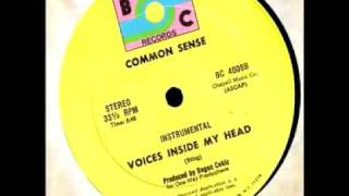 Common Sense - Voices Inside My Head - BC 4008