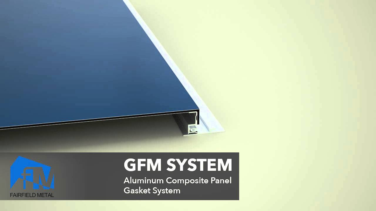 Fairfield Metal Aluminum Composite Panel Systems - YouTube