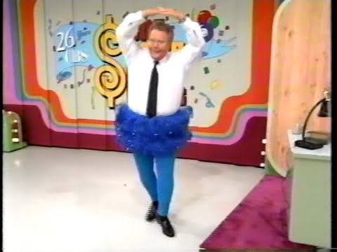 The Price is Right:  November 20, 1997  Rod wears a Tutu!