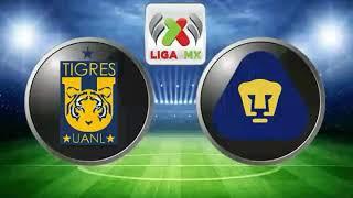 Tigres Vs Puma En vivo online 2-0 -Liga Mx 2017 Jornada 5 (Finalizado)
