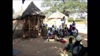 きれいな水をプロジェクト アフリカのブルキナファソ メティオ村の様子