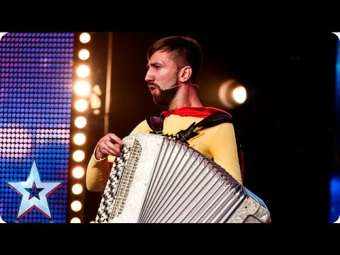 Vitaly… What's your name? | Week 1 Auditions | Britain's Got Talent 2016