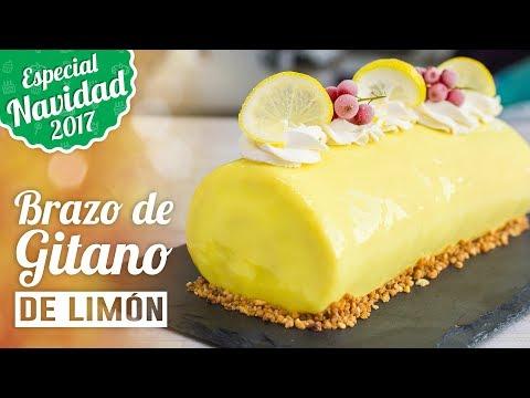 BRAZO DE GITANO DE LIMÓN | ESPECIAL NAVIDAD | Quiero Cupcakes!