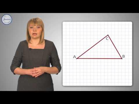 Видео урок по теме построение треугольника по трем элементам