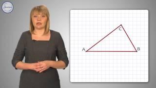 Геометрия 7 класс. Построение треугольника по трём элементам