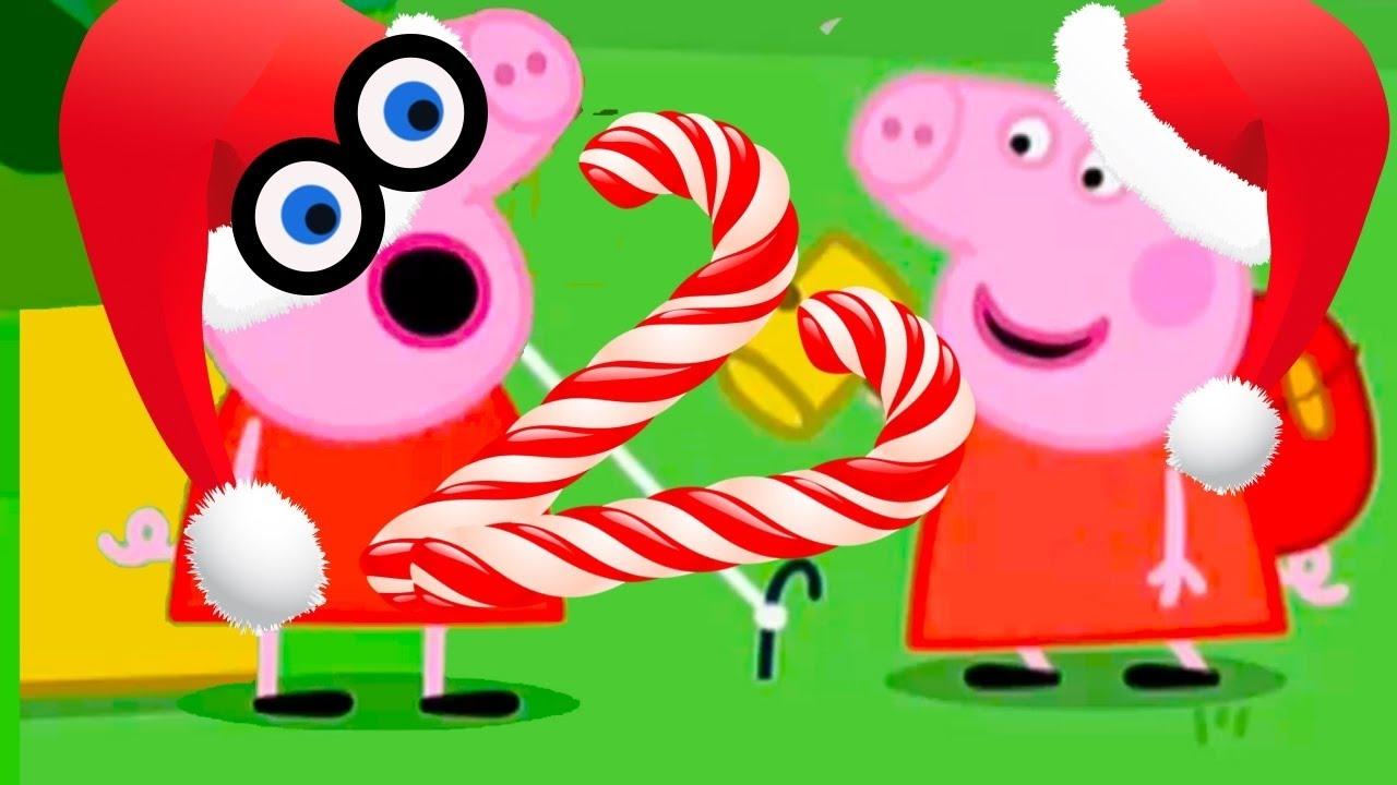 Свинка Пеппа Празднует новый год #DJESSMAY - YouTube
