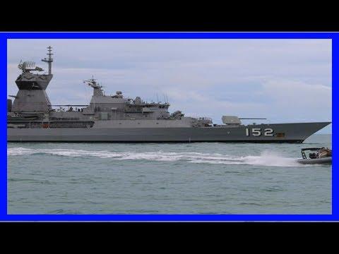 Breaking News   Australian shipbuilder ups pressure for lucrative navy warship contract