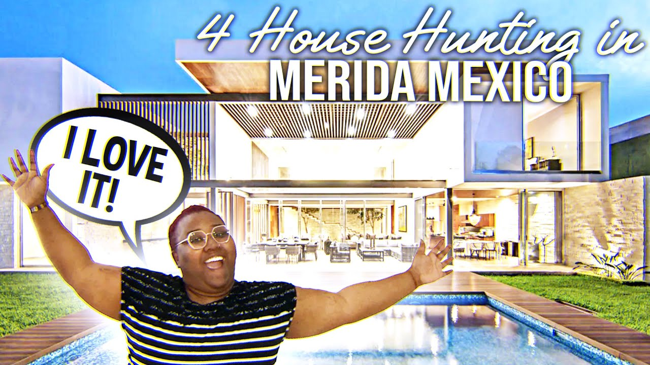 House Hunting In Merida Mexico (Surprise BONUS)