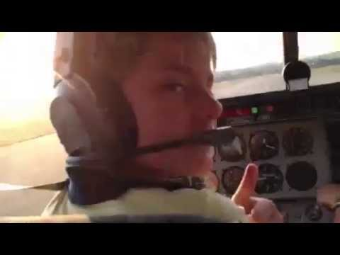 Pilote enfant-le king aviation