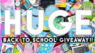 [CLOSED] HUGE Back to School Giveaway 2016 SofiaStyled!!! O(≧∇≦)O Mini Stories + Study Hacks!!