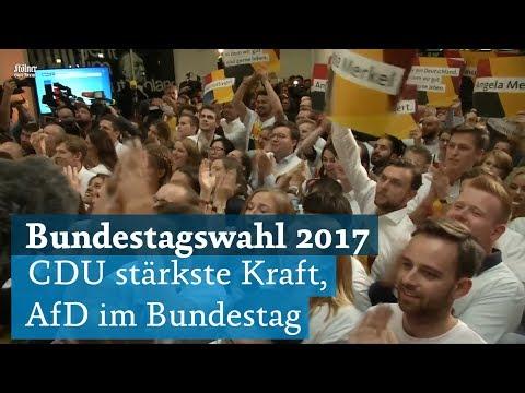 Bundestagswahl 2017: CDU/CSU gewinnt mit Angela Merkel die Wahl