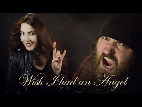 NIGHTWISH -  Wish I Had An Angel (Cover by Alina Lesnik feat. Marco Paulzen & Guitarrista de Atena)