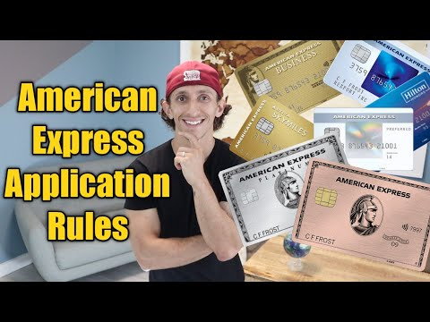 American Express Application Rules