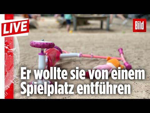 🔴 Kioskbesitzer befreit Mädchen aus den Händen eines Kinderfängers | BILD Live