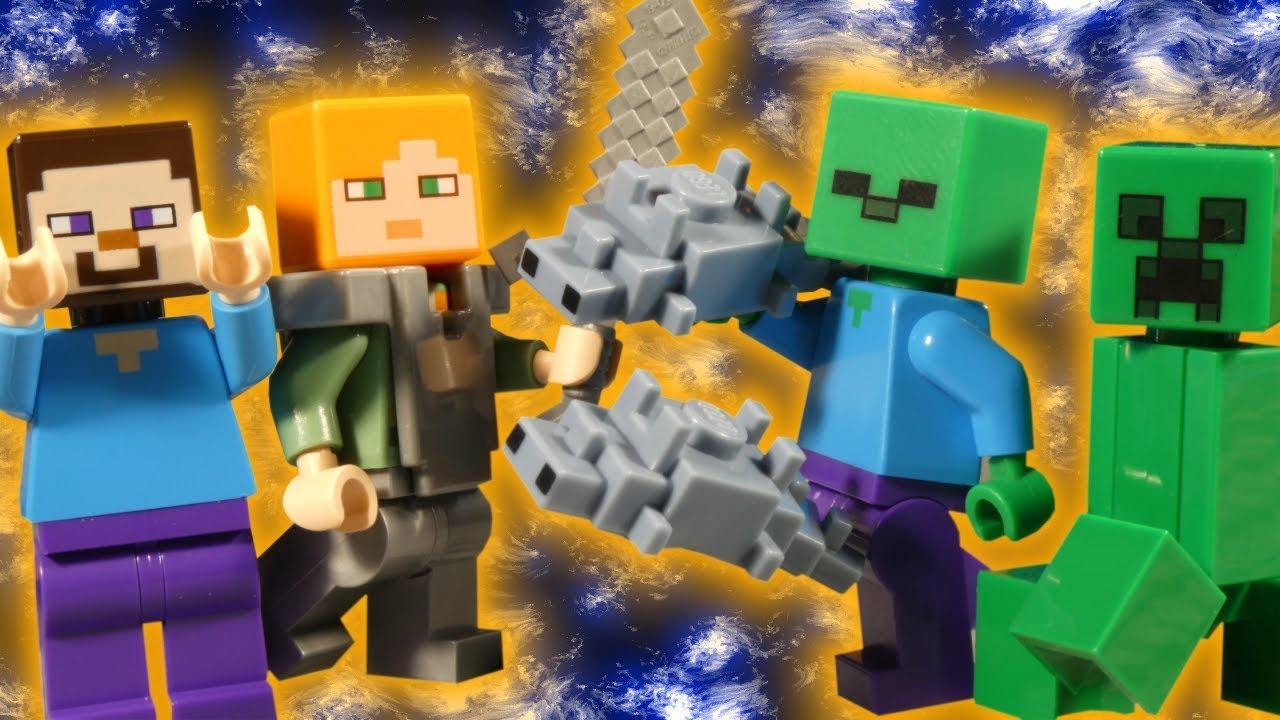 LEGO MINECRAFT - THE BEDROCK ADVENTURES - 21147