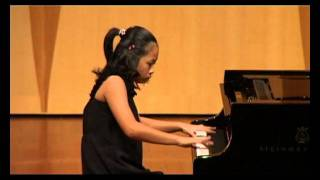 Hazel Tan performs Scherzo in E minor op. 16 by Mendelssohn