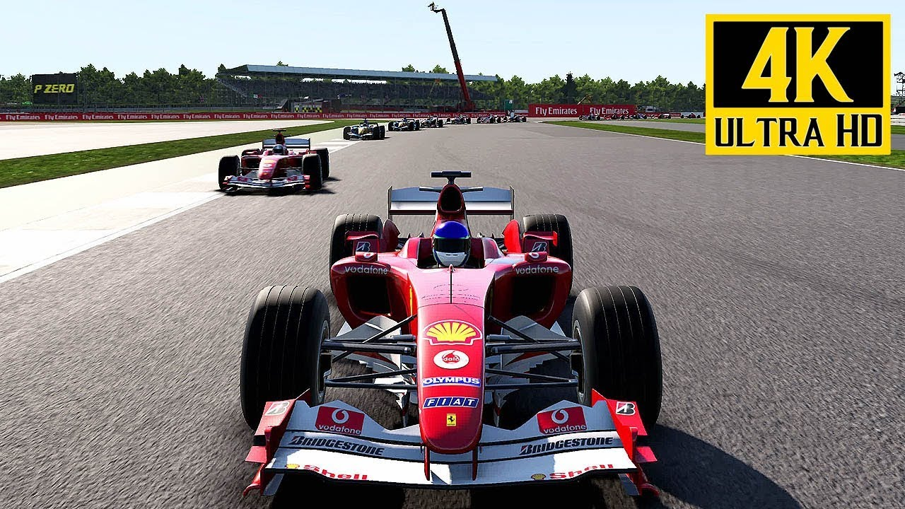 f1 2017 ferrari f2004 silverstone british grand prix gameplay ps4 pro 4k 2160p 60. Black Bedroom Furniture Sets. Home Design Ideas