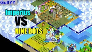 Imperius vs. 9 Crazy Mode Bots   The Battle of Polytopia Gameplay