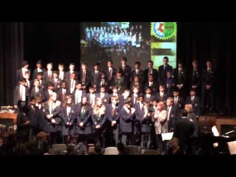 Queen Mary's grammar school choir adiemus