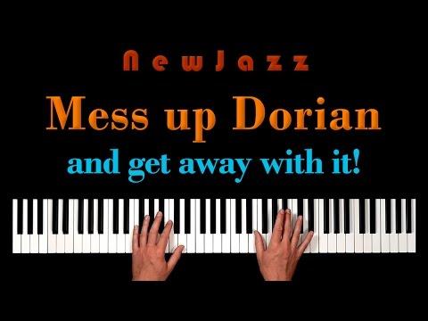 Atonal Improvisation using Dorian Scale