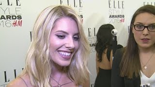 ELLE Style Awards 2016: Mollie King talks style, being a 'belieber' and her new song