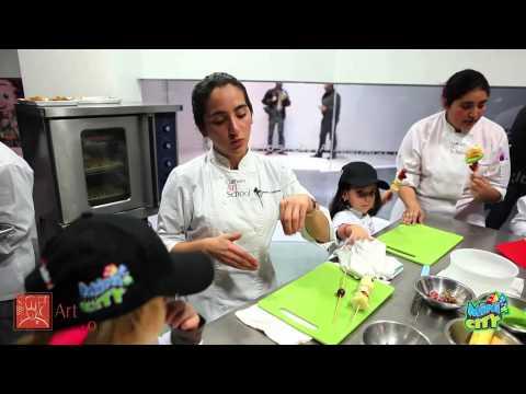Culinary Art School en MiniCity Tijuana Mexico HD