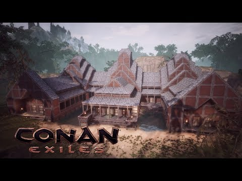 Conan Exiles - Temple of the White Tiger (Khitan DLC, Speed Build)