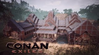 Conan Exiles   Temple Of The White Tiger Khitan DLC Speed Build