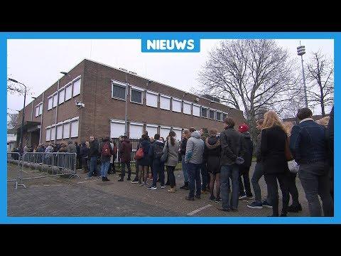 Spannende dag en lange rijen bij rechtszaak Willem Holleeder