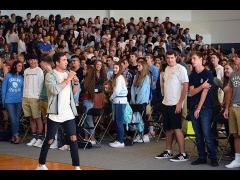 Houston Kraft Speaking at Bellarmine Preparatory School